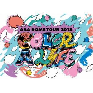 AAA DOME TOUR 2018 COLOR A LIFE(通常盤/DVD)/AAA[DVD]【返品種別A】|joshin-cddvd