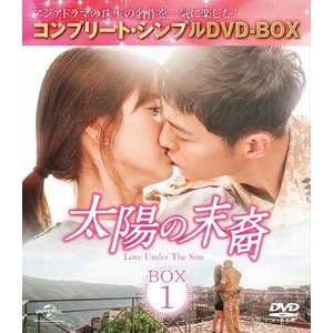 [期間限定][限定版]太陽の末裔 Love Under The Sun BOX1<コンプリート・シンプルDVD-BOX5,000円シリーズ>【期間限定生産】/ソン・ジュンギ[DVD]【返品種別A】