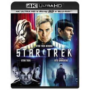 [枚数限定]スター・トレック 3ムービー・コレクション[4K ULTRA HD+3D Blu-ray+Blu-rayセット]/クリス・パイン[Blu-ray]【返品種別A】 joshin-cddvd