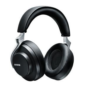 シュア Bluetooth対応 ノイズキャンセリングヘッドホン(ブラック) Shure AONIC ...