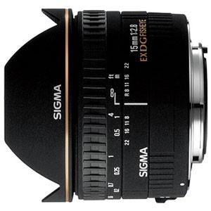 シグマ 15mm F2.8 EX DG DIAGONAL FISHEYE ※ニコンFマウント用レンズ...