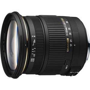 シグマ 17-50mm F2.8 EX DC OS HSM ※キヤノンEF-Sマウント用レンズ(AP...