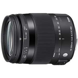 シグマ 18-200mm F3.5-6.3 DC MACRO OS HSM ※シグママウント用レンズ...