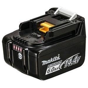 マキタ バッテリ 14.4V 6.0Ah A-60660 リチウムイオンバッテリ BL1460B 返品種別A|joshin