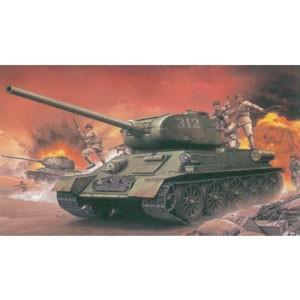 サイバーホビー 1/ 35 朝鮮戦争 中国人民志願軍 T-35/ 85 w/  中国人民志願兵(CH...
