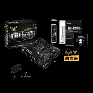 エイスース microATX対応マザーボード ASUS TUF B450M-PLUS GAMING [AMD Ryzen AM4ソケット対応] TUFB450M-PLUSGAMING 返品種別B