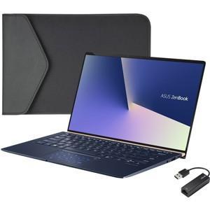 エイスース 14型 ノートパソコン ASUS ZenBook 14 UX433FN ロイヤルブルー (Core i5/ メモリ 8GB/ SSD 256GB/ GeForce MX150) UX433FN-8265RB 返品種別A|joshin
