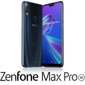 エイスース ASUS ZenFone Max Pro (M2) ミッドナイトブルー 6.3インチ SIMフリースマートフォン ZB631KL-BL64S4 返品種別B