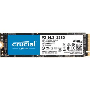 Crucial Crucial M.2 2280 NVMe PCIe Gen3x4 SSD P2シリ...