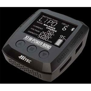 ハイテック 充電器 X1 HI-POWER NANO 44278の商品画像|ナビ