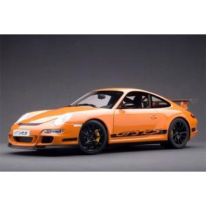 オートアート 1/ 12 ポルシェ 911 997 GT3 RS オレンジ/ ブラックストライプ(12117)ミニカー 返品種別B joshin