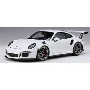 オートアート 1/ 18 ポルシェ 911(991)GT3 RS (ホワイト)(78166)ミニカー 返品種別B
