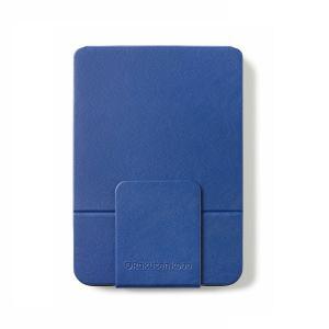 kobo Kobo Clara HD 専用スリープカバー(ブルー) スリープ・マグネットロック機能付、ハンズフリーで読書が楽しめるスタンド型 N249-AC-BL-E-PU 返品種別A|joshin
