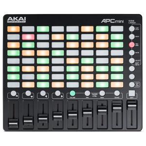 アカイ Ableton Live用MIDIコントローラ AKAI APC MINI AP-CON-0...