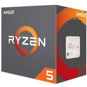 AMD AMD CPU 2600 BOX(CPUクーラー付属)(Ryzen 5) YD2600BBAFBOX 返品種別B