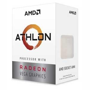 AMD AMD CPU 200GE Radeon Vega 3 Graphics BOX(Athlon) YD200GC6FBBOX 返品種別B