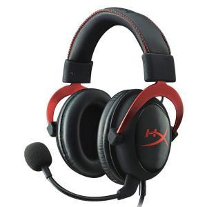 キングストン 7.1バーチャルサラウンドサウンド対応 ゲーミングヘッドセット(レッド) Kingston HyperX Cloud Gaming Headset KHX-HSCP-RD 返品種別A|joshin