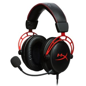 キングストン ゲーミングヘッドセット Kingston HyperX Cloud Alpha Gaming Headset HX-HSCA-RD/ AS 返品種別A|joshin
