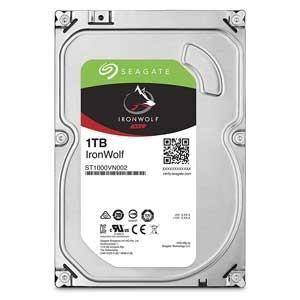 Seagate (バルク品)3.5インチ 内蔵ハードディスク 1.0TB IronWolf(NAS向...