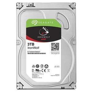 Seagate (バルク品)3.5インチ 内蔵ハードディスク 3.0TB IronWolf(NAS向...
