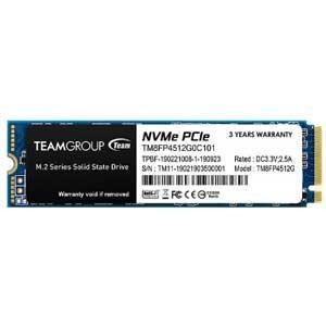 Team Team M.2 2280 NVMe PCIe 3.0x4 SSD 512GB TM8FP...