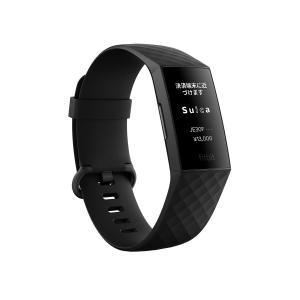 フィットビット (Suica対応)ウェアラブル活動量計 (ブラック) L /  Sサイズ(Suica対応)Fitbit Charge4 GPS搭載 BK L/ S FB417BKBK-JP 返品種別A|Joshin web