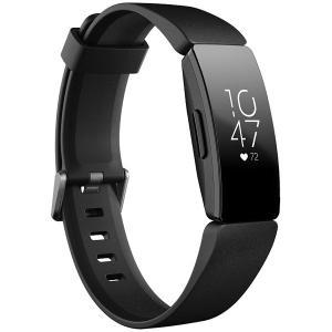 フィットビット ウェアラブル活動量計(Black) L/ SサイズFitbit Inspire HR...