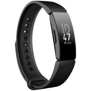 フィットビット ウェアラブル活動量計(Black) L/ SサイズFitbit Inspire FB...