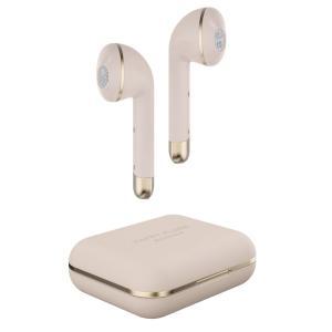 ハッピープラグス 完全ワイヤレス Bluetoothイヤホン(ゴールド) Happy Plugs A...