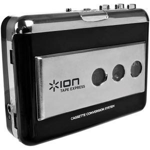 アイオン ポータブルUSBカセットテーププレーヤー ion TAPE EXPRESS IA-TPE-004 返品種別A