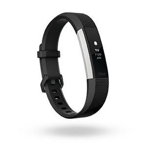 フィットビット ウェアラブル活動量計・睡眠計・心拍計(ブラック/ Lサイズ)Fitbit Alta HR FB408SBKL-CJK 返品種別A|joshin