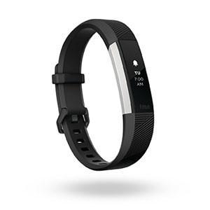 フィットビット ウェアラブル活動量計・睡眠計・心拍計(ブラック/ Sサイズ)Fitbit Alta HR FB408SBKS-CJK 返品種別A|joshin