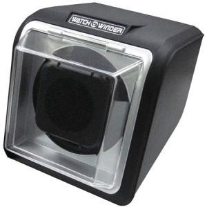 時計用品 ウォッチワインダー1本巻き ブラック KA078-015 返品種別B|joshin