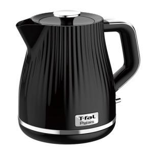 ティファール(T-FAL) 電気ケトル 1.0L ブラック パレ KO2528JP 返品種別A