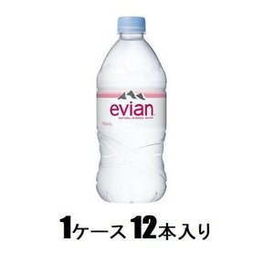 エビアン 750ml(1ケース12本入) 伊藤園 17エビアン750ケ-ス 返品種別B|joshin