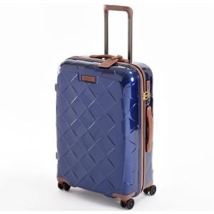 ストラティック スーツケース ハードシェル(Mサイズ)ネイビーブルー(日本限定色) Stratic Leather & More(レザー&モア) 3-9902-65 3-990265030 返品種別B|joshin
