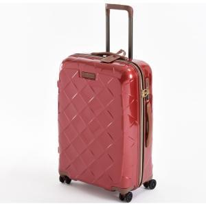 ストラティック スーツケース ハードシェル(Mサイズ)カーマインレッド(日本限定色) Stratic Leather & More(レザー&モア) 3-9902-65 3-990265002 返品種別B|joshin