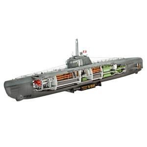ドイツレベル (再生産)1/ 144 Uボート TypeXXI w/ インテリア(05078)プラモデル 返品種別B joshin