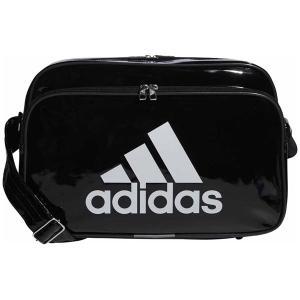 アディダス エナメルバッグ(ブラック/ ホワイト・容量:18L) adidas エナメルバッグM A...