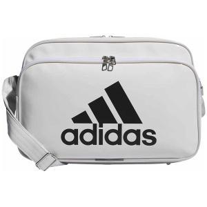 アディダス エナメルバッグ(ホワイト/ ブラック・容量:18L) adidas エナメルバッグM A...