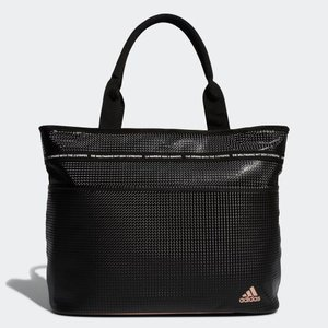 アディダス ウィメンズ テープデザイントートバッグ(ブラック) adidas AD19FW-HFF9...