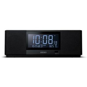 セイコークロック デジタル目覚まし時計 マルチサウンドクロックPremium Time & Music SS501K 返品種別A joshin