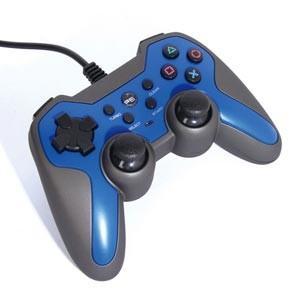 アクラス (PS3)ラバーコートコントローラーターボ2(ブルー×ブラック) 返品種別B|joshin