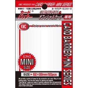 KMC KMC カードバリアー ミニ(パールホワイト) 返品種別B