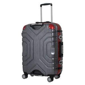 シフレ スーツケース ハードフレーム 83L(レッド/ ブラック) Grip Master(グリップマスター) B5225T-67RD/ BK 返品種別B|joshin