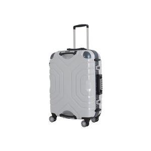 シフレ スーツケース ハードフレーム 83L(ホワイト/ ブルー) Grip Master(グリップマスター) B5225T-67WH/ BL 返品種別B|joshin
