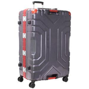 シフレ スーツケース ハードフレーム 148L(レッド/ ブラック) Grip Master(グリップマスター) B5225T-82RD/ BK 返品種別B|joshin