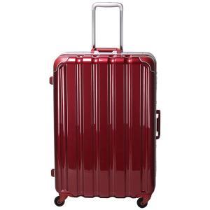 シフレ スーツケース ハードフレーム 93L(メタリックワイン) GREEN WORKS(グリーンワークス) GRE1043-66 MWN 返品種別B|joshin