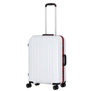 シフレ スーツケース ハードフレーム 56L(カーボンホワイト) ESCAPE'S ESC1046-57カ-ボンホワイト 返品種別B|joshin