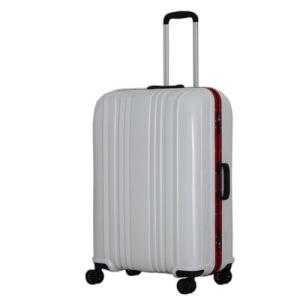 シフレ スーツケース ハードフレーム 88L(カーボンホワイト) ESCAPE'S ESC1046-68カ-ボンホワイト 返品種別B|joshin